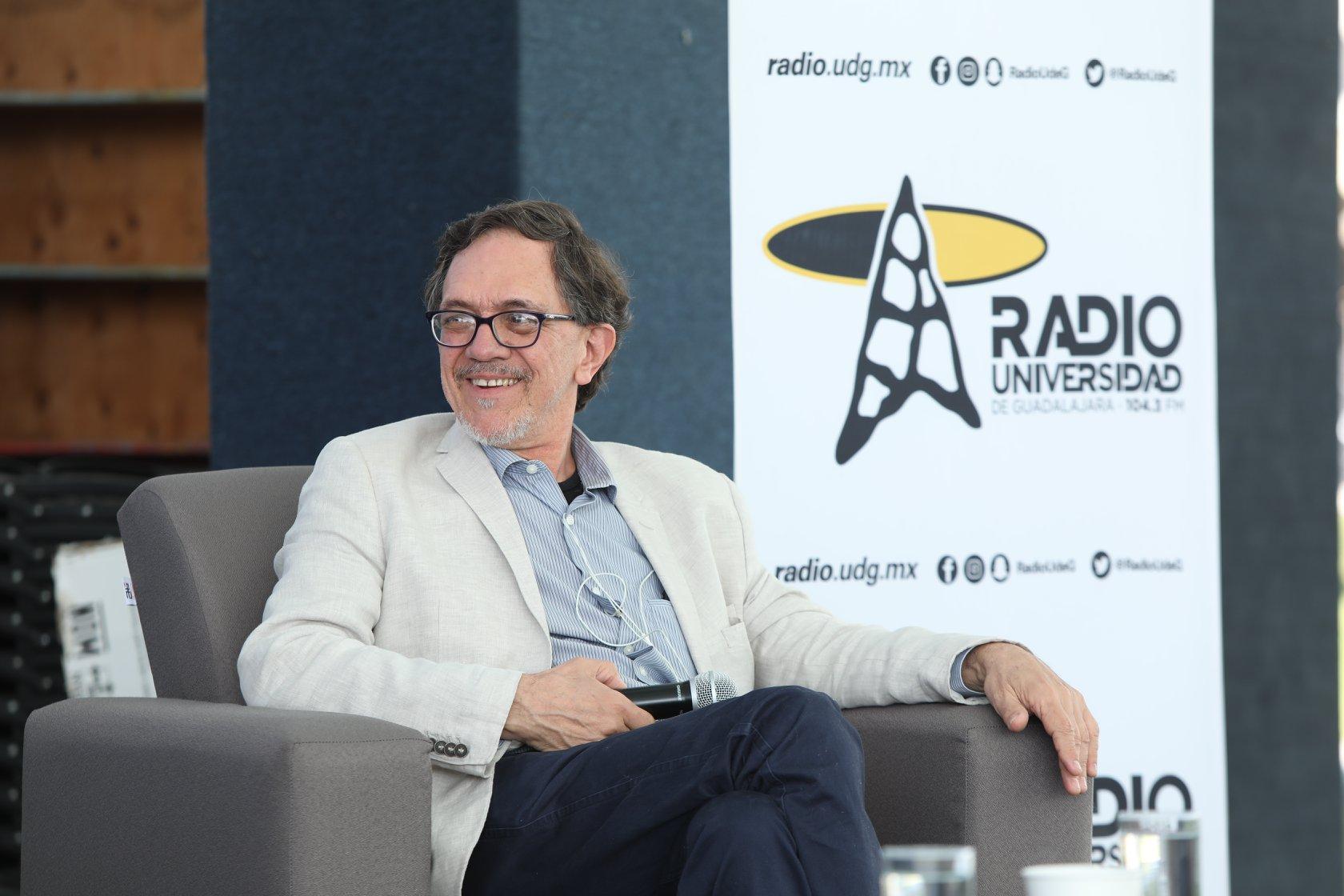 Alfredo Sánchez, director de Radio UdeG