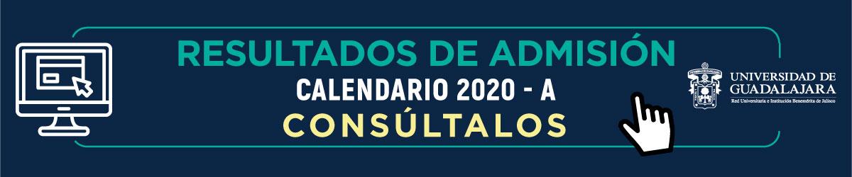 Admisión Calendario 2020A