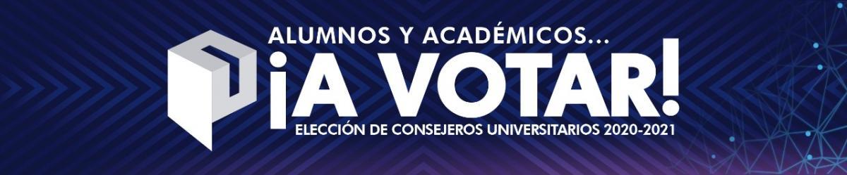 Elección de Consejeros Universitarios (Padrón) 2020-2021