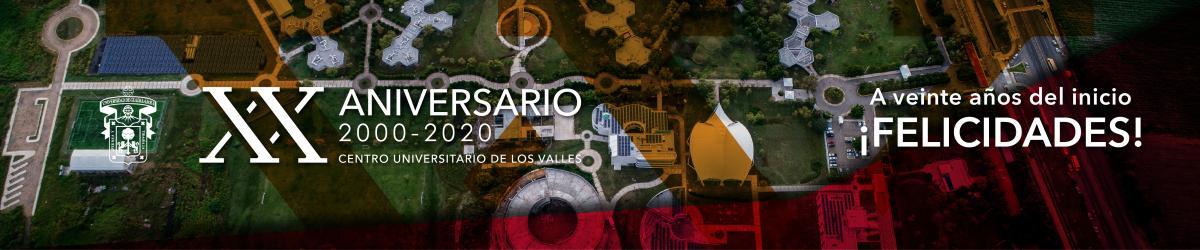 XX aniversario CUValles