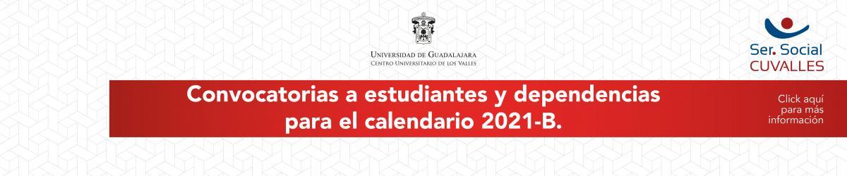Servicio Social, convocatoria 2021-B