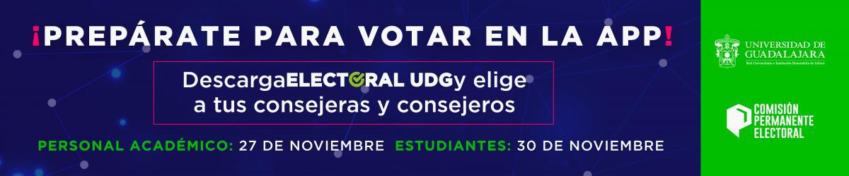 Descarga ELECTORAL UDG - Prepárate para votar en la APP