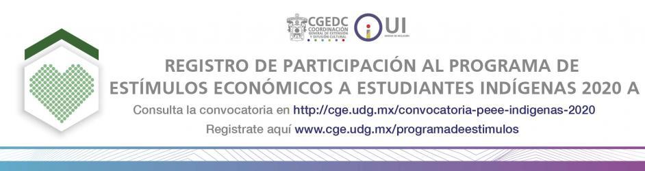 Programa de Estímulos Económicos a Estudiantes Indígenas 2020-A