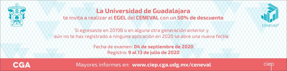 EGEL del CENEVAL 2020 (fecha de registro 9 al 13 de julio)
