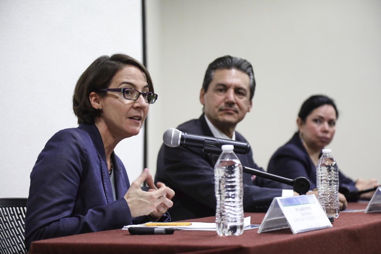 Laura Rumpley, conferencia inaugural Seminario de Arranque de la MESI