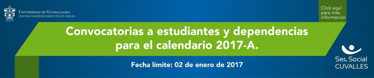 Banner Convocatoria Servicio Social 17A