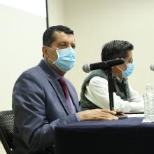Dr. Víctor Castillo Girón, Director de la División de Estudios Económicos y Sociales