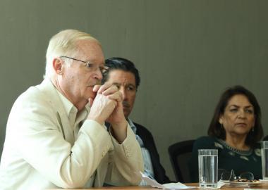 Ángel Díaz Barriga de visita en CUValles
